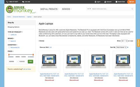 Apple Laptops  | ServerMonkey.com