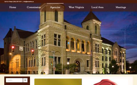Screenshot of FAQ Page kanawha.us - FAQs – Kanawha County - captured Oct. 15, 2018