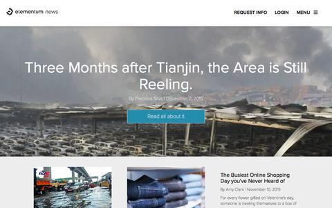 Elementum News - Supply chain news and context