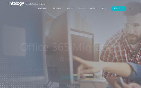 Microsoft Office 365, SharePoint Consultants and Application Developers - Intelogy