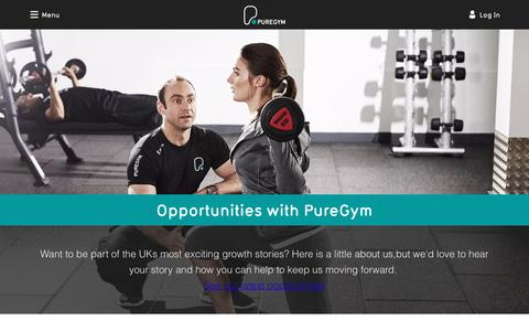 Job Opportunities with PureGym | PureGym
