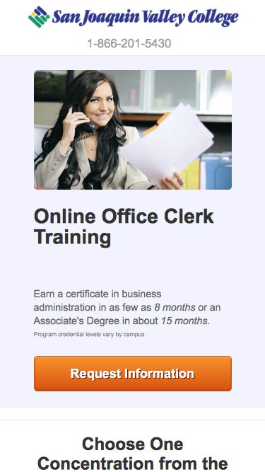 Train to Become an Office Clerk