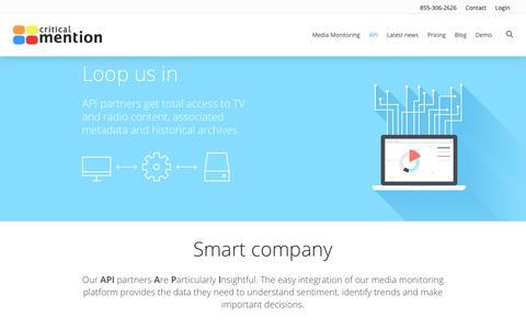 API - Critical Mention - Media Monitoring