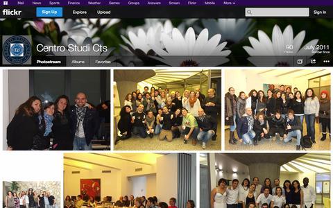 Screenshot of Flickr Page flickr.com - Flickr: Centro Studi Cts' Photostream - captured Oct. 22, 2014