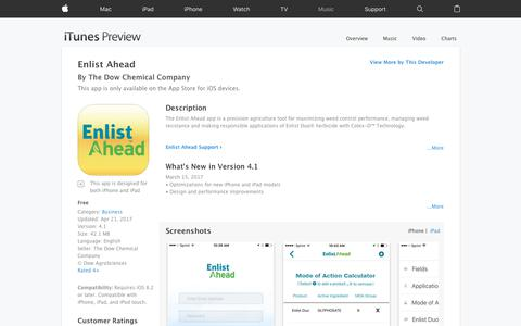 Enlist Ahead on the App Store