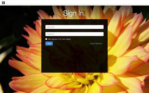 Screenshot of Login Page drgok.com - Delaware Resource Group :: Login - captured Jan. 23, 2016