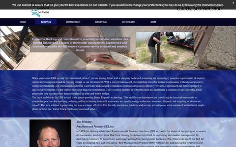Screenshot of About Page stormregen.com - Environmental Business Solutions Team Bios & Company Background, Portland, Oregon - captured Jan. 22, 2016