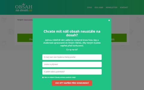 Screenshot of Team Page obnd.cz - Management     ObsahNaDosah.cz - captured Nov. 3, 2018