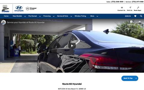 Screenshot of Press Page route60hyundai.com - Route 60 Hyundai Media - captured Oct. 20, 2018