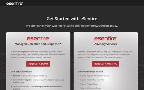 Get Started | eSentire