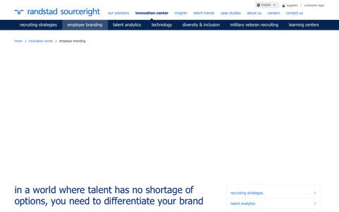 Employer Branding Strategy Services | Randstad Sourceright