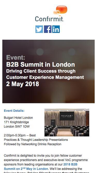 Event: B2B Summit