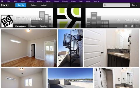 Screenshot of Flickr Page flickr.com - Flickr: FRcompanies' Photostream - captured Oct. 22, 2014