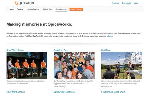 SpiceMemories | Company Photos and Videos | Spiceworks