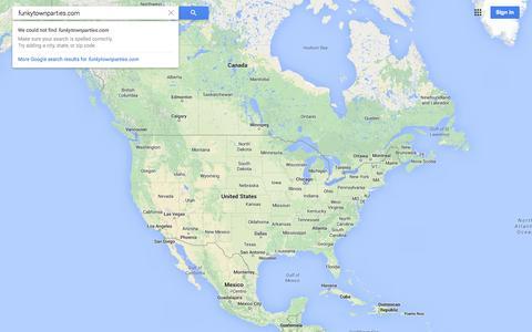 Screenshot of Maps & Directions Page google.com - Google Maps - captured Oct. 10, 2014