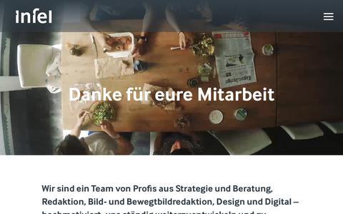 Screenshot of Team Page infel.ch - Team - Infel - captured Oct. 15, 2017