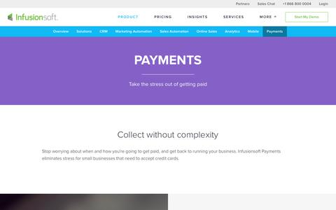 Online Payment Software | Infusionsoft