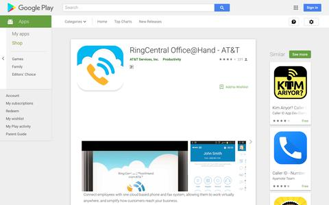 RingCentral Office@Hand - AT&T - Apps on Google Play