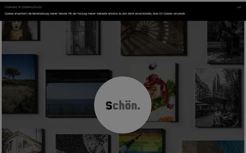 Screenshot of Home Page simonegle.se - Simon Egle – Bildwerkstatt - captured June 9, 2018