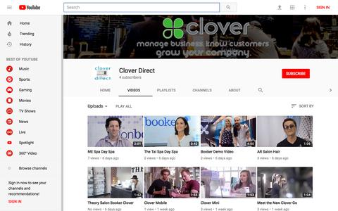 Clover Direct - YouTube - YouTube