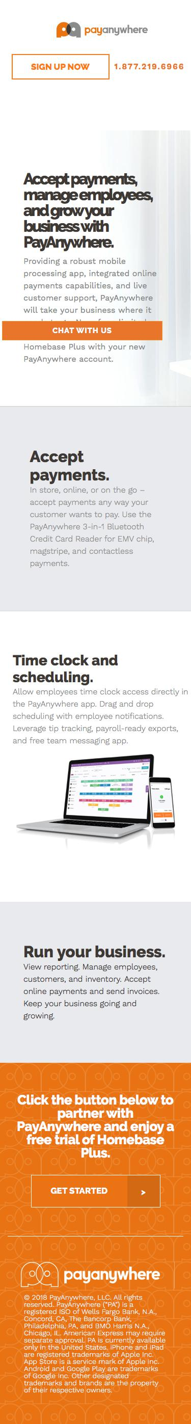 PayAnywhere | Competitive Intelligence and Insights | Crayon