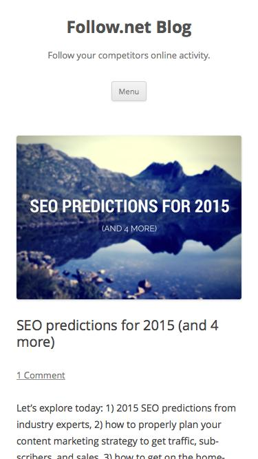 SEO predictions for 2015 (and 4 more) | Follow.net Blog