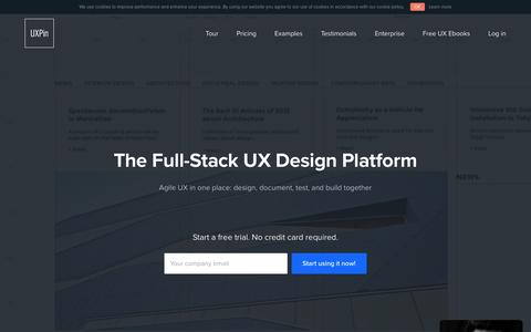 UXPin - UX Design, Wireframing Tools, Prototyping Tools