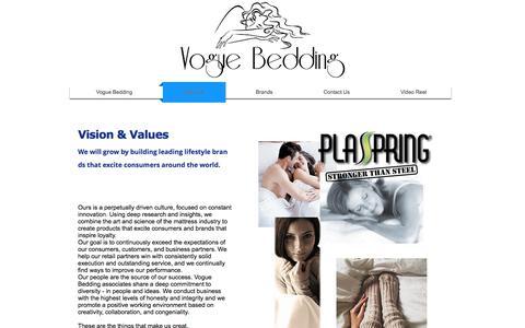Screenshot of About Page voguebedding.com - About Vogue Bedding - captured June 14, 2017
