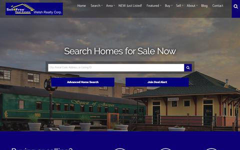 Screenshot of Home Page sell-4free.net - Homes for Sale in the Jasper, Indiana Area | Sell 4 Free - captured Oct. 29, 2018