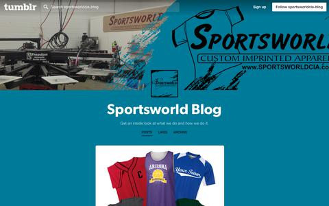 Screenshot of Blog sportsworldcia.com - Sportsworld Blog - captured Oct. 20, 2018