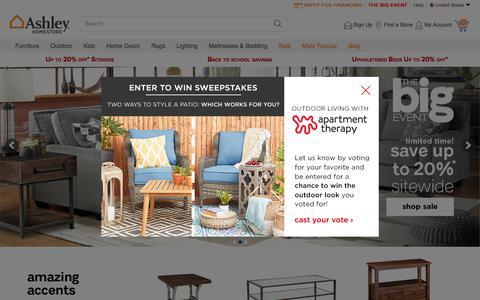 Ashley Furniture HomeStore | Home Furniture and Decor