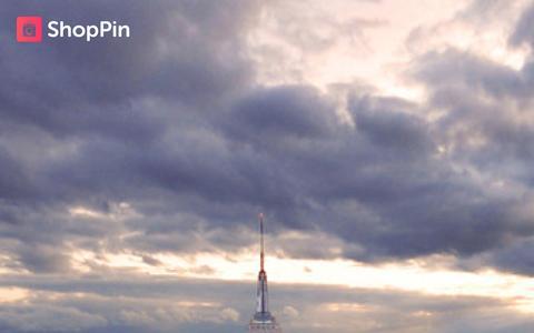 Screenshot of Home Page shoppinapp.com - ShopPin App - captured Oct. 6, 2014