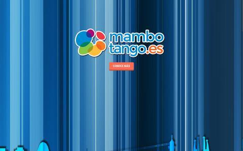 Screenshot of Home Page mambotango.eu - Inicio - Mambotango - Web Agency |Agencia de Diseño Web | SEO | Barcelona - captured Sept. 19, 2015