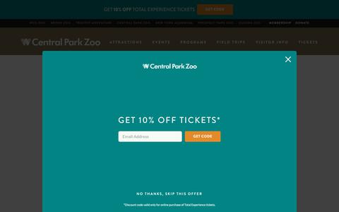 Screenshot of Contact Page centralparkzoo.com - Contact Us - Central Park Zoo - captured Oct. 1, 2018