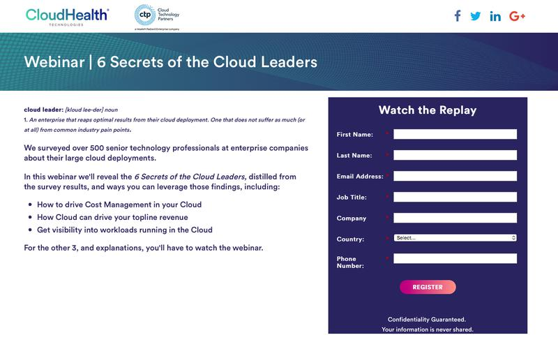 6 Secrets of the Cloud Leaders
