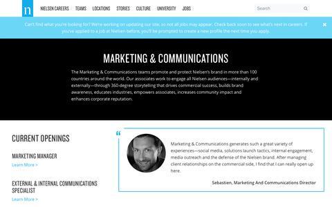 Marketing & Communications – Nielsen Careers