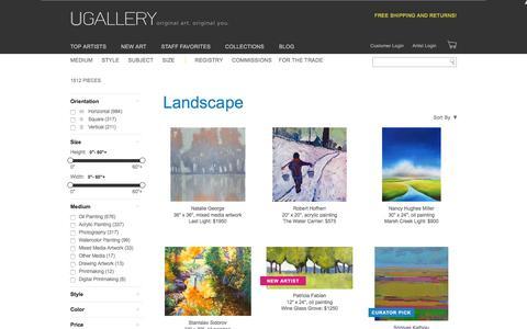 Landscape Artwork for Sale, Buy Art Online | UGallery