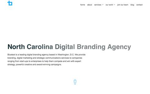 North Carolina Digital Branding Agency | Bluetext