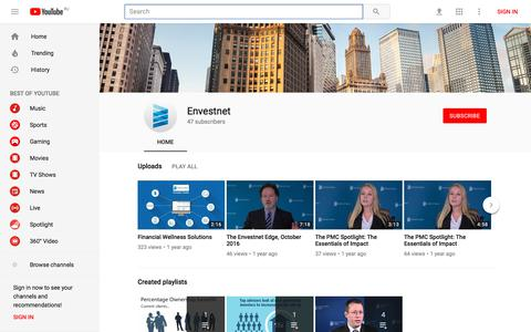 Envestnet - YouTube - YouTube
