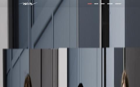 Screenshot of Contact Page neonmedia.nl - Neonmedia - TV / Film Production - captured Oct. 9, 2014