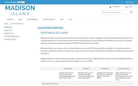 Screenshot of Support Page romanmonarch.com - Customer Service - captured Nov. 4, 2014