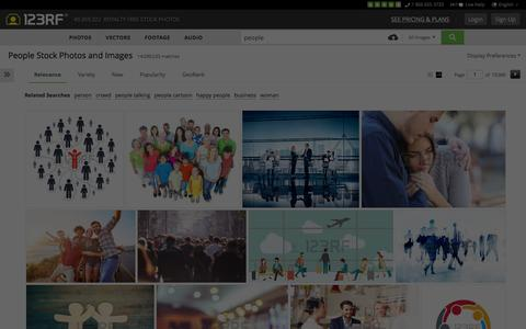 Screenshot of Team Page 123rf.com - People Stock Photos, Pictures, Royalty Free People Images And Stock Photography - captured Dec. 22, 2015