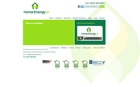Screenshot of Terms Page homeenergyuk.com - Terms & conditions | Home Energy UK - captured Oct. 27, 2014
