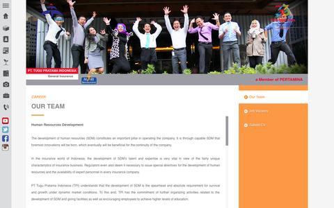 Screenshot of Team Page tugu.com - Our Team | PT. Tugu Pratama Indonesia - captured Oct. 1, 2014