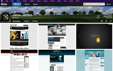 Screenshot of Flickr Page flickr.com - Flickr: Webimprove's Photostream - captured Oct. 26, 2014