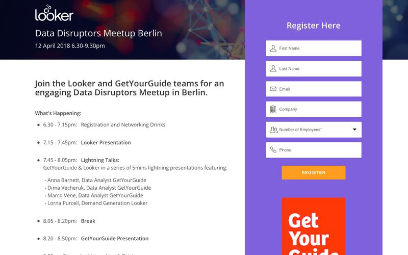 Data Disruptors Meetup Berlin