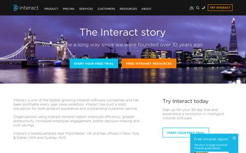 About | Interact Intranet Software