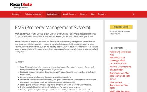 PROPERTY MANAGEMENT SYSTEM | ResortSuite