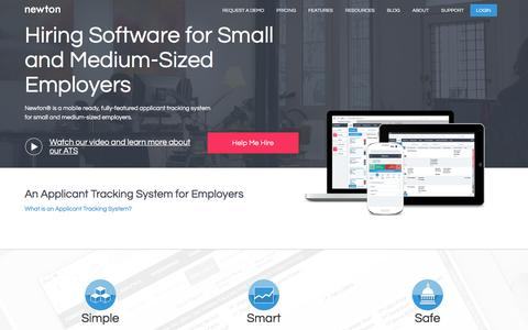 Newton Software | Applicant Tracking System Software