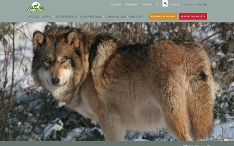 Screenshot of FAQ Page parcsaintecroix.com - La foire aux questions - Parc Animalier de Sainte-Croix – 57 810 Rhodes - captured Dec. 23, 2016